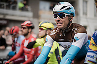 Oliver Naesen (BEL/AG2R-La Mondiale) at the start<br /> <br /> 81st Gent-Wevelgem 'in Flanders Fields' 2019<br /> One day race (1.UWT) from Deinze to Wevelgem (BEL/251km)<br /> <br /> ©kramon