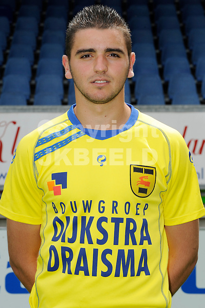 LEEUWARDEN - Voetbal, Persdag SC Cambuur, seizoen 2012-2013, 9-7-2012,.Alim Ozturk