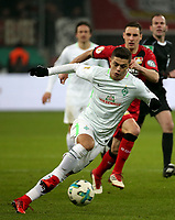 06.02.2018, Bay - Arena, Leverkusen, GER, DFB-Pokal, Bayer 04 Leverkusen vs Werder Bremen<br /> , <br />Milot Rashica (Bremen) *** Local Caption *** © pixathlon<br /> Contact: +49-40-22 63 02 60 , info@pixathlon.de