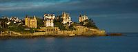 Europe/France/Bretagne/35/Ille et Vilaine/Côte d'Emeraude/Dinard: Villas du 19 éme s et demeures de la Pointe du Moulinet //  France, Ille et Vilaine, Cote d'Emeraude (Emerald Coast), Dinard, Pointe du Moulinet