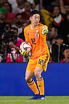 Goalkeeper Gonda Shuichi of Japan in action during the AFC Asian Cup UAE 2019 Semi Finals match between I.R. Iran (IRN) and Japan (JPN) at Hazza Bin Zayed Stadium  on 28 January 2019 in Al Alin, United Arab Emirates. Photo by Marcio Rodrigo Machado / Power Sport Images