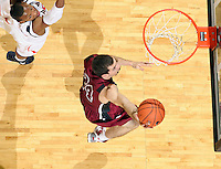 Nov 6, 2010; Charlottesville, VA, USA; Roanoke College g/f Clay Lacy (24) shoots the ball Saturday afternoon in exhibition action at John Paul Jones Arena. The Virginia men's basketball team recorded an 82-50 victory over Roanoke College.