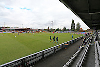 General view of the ground ahead of the game during Arsenal Under-19 vs Ludogorets Razgrad Under-19, UEFA Youth League Football at Meadow Park on 19th October 2016