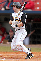 Iowa Hawkeyes infielder Chett Zeise #18 during a game against the Illinois State Redbirds at Chain of Lakes Stadium on March 11, 2012 in Winter Haven, Florida.  Illinois State defeated Iowa 10-6.  (Mike Janes/Four Seam Images)