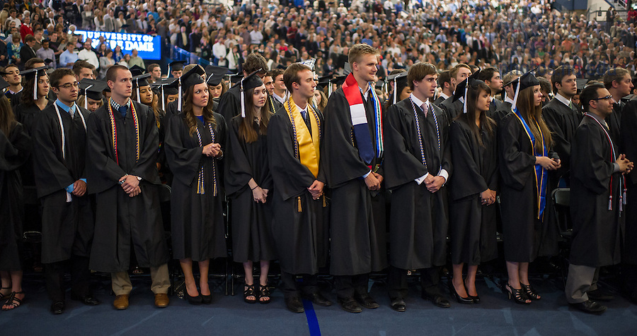 May 17, 2014; 2014 Commencement Mass<br /> <br /> Photo by Matt Cashore/University of Notre Dame
