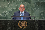 General Assembly Seventy-third session, 14th plenary meeting<br /> <br /> <br /> His Excellency Abdelkader MESSAHELMinister of Foreign Affairs of Algeria