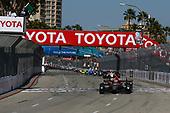 2017 Verizon IndyCar Series<br /> Toyota Grand Prix of Long Beach<br /> Streets of Long Beach, CA USA<br /> Sunday 9 April 2017<br /> James Hinchcliffe leads on the final restart<br /> World Copyright: Phillip Abbott/LAT Images<br /> ref: Digital Image lat_abbott_lbgp_0417_14865