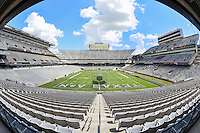 View of the renovated Kyle Field before NCAA Football game kickoff, Saturday, September 06, 2014 in College Station, Tex. (Mo Khursheed/TFV Media via AP Images)