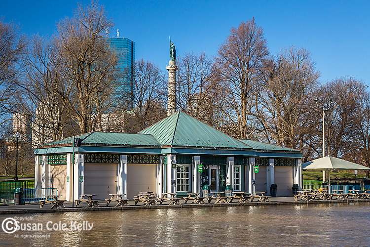 The Frog Pond on Boston Common, Boston, Massachusetts, USA