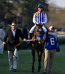 19 March 2011: Martin Garcia rode Bob Baffert trained The Factor to win in the51st Rebel Stakes at Oaklawn Park in Hot Springs, Arkansas (Jimmy Jones/Eclipse Sportswire)