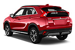 Car pictures of rear three quarter view of a 2018 Mitsubishi Eclipse Cross Style 5 Door SUV angular rear