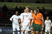 Pictured: Alan Tate of Swansea City <br /> Picture by D Legakis / Athena Picture Agency, Swansea, 07815441513