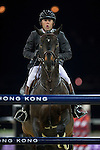 Philippe Rozier on Unpulsion de la Hart competes during the Airbus Trophy at the Longines Masters of Hong Kong on 20 February 2016 at the Asia World Expo in Hong Kong, China. Photo by Juan Manuel Serrano / Power Sport Images