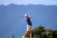 Charlie Smail. Day one of the Renaissance Brewing NZ Stroke Play Championship at Paraparaumu Beach Golf Club in Paraparaumu, New Zealand on Thursday, 18 March 2021. Photo: Dave Lintott / lintottphoto.co.nz