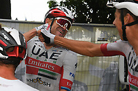 29th August 2020, Nice, France;  KRISTOFF Alexander (NOR) of UAE TEAM EMIRATES during stage 1 of the 107th edition of the 2020 Tour de France cycling race, a stage of 156 kms with start in Nice Moyen Pays and finish in Nice