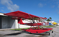 Lockwood Aircraft AirCam N122CZ on Clamar amphibious floats at Sebring Regional Airport (SEF), Highlands County, Florida