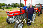 At the vintage tractor run in Abbeydorney on Sunday, l to r: Jay and Patrick Flahive from Ballyheigue.
