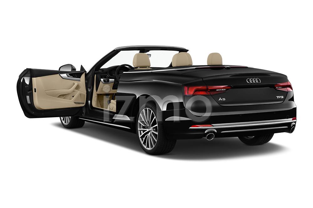 Car images of 2018 Audi A5 Design 2 Door Convertible Doors
