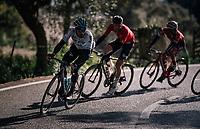 Gianni Moscon (ITA/SKY), Tim Wellens (BEL/Lotto-Soudal) & Gianluca Brambilla (ITA/Trek-Segafredo)<br /> <br /> Trofeo Lloseta - Andratx: 140km<br /> 27th Challenge Ciclista Mallorca 2018