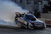 """Jan 20, 2007; Las Vegas, NV, USA; NHRA Funny Car driver Scott Kalitta during preseason testing at """"The Strip"""" at Las Vegas Motor Speedway in Las Vegas, NV. Mandatory Credit: Mark J. Rebilas"""
