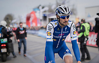 Tom Boonen (BEL/Quick-Step Floors) to the start<br /> <br /> 60th E3 Harelbeke (1.UWT)<br /> 1day race: Harelbeke › Harelbeke - BEL (206km)