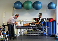 Pictured: Neil Taylor Sunday 28 June 2015<br />