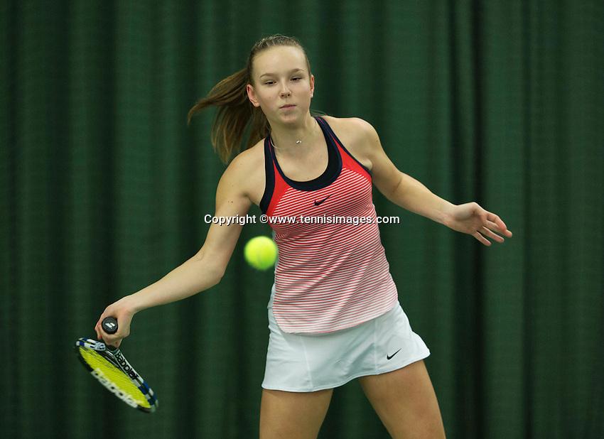Rotterdam, The Netherlands, March 11, 2016,  TV Victoria, , NOJK 12/16 years, Femke Mars<br /> Photo: Tennisimages/Henk Koster