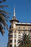 Europe/Espagne/Guipuscoa/Pays Basque/Saint-Sébastien: Immeubles art déco du Front de mer