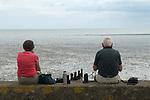Couple Isle of Sheppey Kent UK.