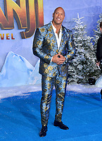 "LOS ANGELES, USA. December 10, 2019: Dwayne Johnson at the world premiere of ""Jumanji: The Next Level"" at the TCL Chinese Theatre.<br /> Picture: Paul Smith/Featureflash"