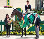 APRIL 27, 2014: BAY MY HERO, ridden by William Fox-Pitt (GBR), after winning the Rolex Kentucky 3-Day Event at the Kentucky Horse Park in Lexington, KY. Jon Durr/ESW/CSM