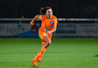 Jolet Lommen (9) of AA Gent pictured during a female soccer game between  Racing Genk Ladies and AA Gent Ladies on the eleventh matchday of the 2020 - 2021 season of Belgian Scooore Womens Super League , friday 22 th of January 2021  in Genk , Belgium . PHOTO SPORTPIX.BE | SPP | DAVID CATRY