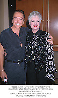 ©2000 KATHY HUTCHINS/HUTCHINS PHOTO.D. CASSIDY GOLF TOURN.  &70'S POLYESTER BALL.LAS VEGAS,  CA 6/10-11/00.DAVID CASSIDY & STEP MOM, SHIRLEY JONES