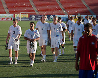 US Men's National Team U17. The Under-17 US Men's National Team defeated Cuba 5-0 at the 2009 CONCACAF Under-17 Championship April 21, 2009 in Tijuana, Mexico.