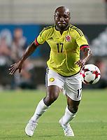 Colombia's Pablo Armero during international friendly match. June 7,2017.(ALTERPHOTOS/Acero) (NortePhoto.com) (NortePhoto.com)