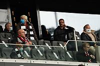 Vorstand Sport Fredi Bobic (Eintracht Frankfurt) ohne MNS<br /> - 03.10.2020: Fussball  Bundesliga, Saison 20/21, Spieltag 3, Eintracht Frankfurt vs. TSG 1899 Hoffenheim, emonline, emspor, v.l. Deutsche Bank Park<br /> Foto: Marc Schueler/Sportpics.de <br /> Nur für journalistische Zwecke. Only for editorial use. (DFL/DFB REGULATIONS PROHIBIT ANY USE OF PHOTOGRAPHS as IMAGE SEQUENCES and/or QUASI-VIDEO)