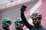 Peter Sagan (SVK) and Bora-Hansgrohe at sign on before the start of Stage 12 of the 103rd edition of the Giro d'Italia 2020 running 204km from Cesenatico to Cesenatico, Italy. 15th October 2020.  <br /> Picture: LaPresse/Gian Mattia D'Alberto | Cyclefile<br /> <br /> All photos usage must carry mandatory copyright credit (© Cyclefile | LaPresse/Gian Mattia D'Alberto)