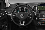 Car pictures of steering wheel view of a 2018 Mercedes Benz GLS-Class GLS450 5 Door SUV Steering Wheel