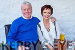 Bernard Dennehy and Joan Pototzki from Tralee enjoying the evening in Cassidys on Saturday.