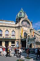 Repraesentationshaus (Obecni Dum), Prag, Tschechien, Unesco-Weltkulturerbe.