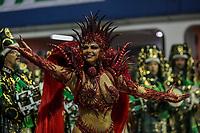 SAO PAULO, SP, 21/02/2020 - Carnaval 2020 -SP- Carnaval 2020, Viviane Araujo Rainha de Bateria da Escola de Samba Mancha Verde pelo grupo especial, no Sambodromo do Anhembi em Sao Paulo, SP, nesta sexta-feira (21). (Foto: Marivaldo Oliveira/Codigo 19/Codigo 19)