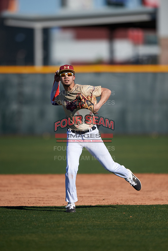 Angel Vazquez during the Under Armour All-America Tournament powered by Baseball Factory on January 19, 2020 at Sloan Park in Mesa, Arizona.  (Zachary Lucy/Four Seam Images)Under Armour All-America Tournament powered by Baseball Factory on January 19, 2020 at Sloan Park in Mesa, Arizona.  (Zachary Lucy/Four Seam Images)