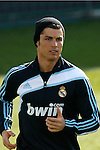 Madrid (11/03/10).-Entrenamiento del Real Madrid..Cristiano Ronaldo...© Alex Cid-Fuentes/ ALFAQUI..Madrid (11/03/10).-Training session of Real Madrid c.f..Cristiano Ronaldo...© Alex Cid-Fuentes/ ALFAQUI.