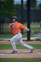 Houston Astros Colton Shaver (70) bats during a Minor League Spring Training Intrasquad game on March 28, 2019 at the FITTEAM Ballpark of the Palm Beaches in West Palm Beach, Florida.  (Mike Janes/Four Seam Images)