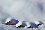 Chalets under Rossstock, Urner Alpen, Switzerland, 2007