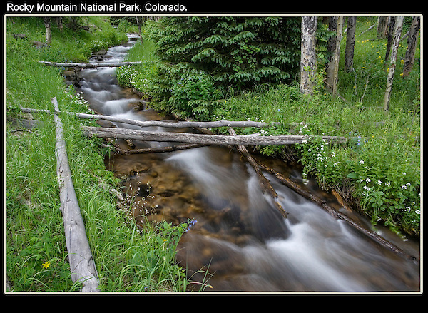 Just a short walk from the road. <br />