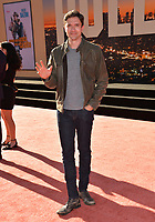 """LOS ANGELES, USA. July 23, 2019: Topher Grace at the premiere of """"Once Upon A Time In Hollywood"""" at the TCL Chinese Theatre.<br /> Picture: Paul Smith/Featureflash"""