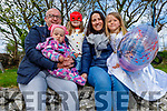 Sophia Rose and Faye Lily Scroope dressed in character for the Bryan Carr online musical and Sophia Rose also celebrated her 7th birthday at home on Friday.<br /> L to R: Lyra, John, Sophia Rose Scroope, Caroline Sugrue Scroope and Faye Lily Scroope.