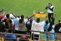 Fij supporters at the 2017 HSBC World Sevens Series Wellington final Fiji vs South Africa, Westpac Stadium in Wellington, New Zealand on Sunday, 29 January 2017. Photo: Kerry Marshall / lintottphoto.co.nz