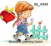 Interlitho-Fabrizio, Comics, VALENTINE, VALENTIN, paintings+++++,girl, heart,KL4599,#v#, EVERYDAY ,sticker,stickers